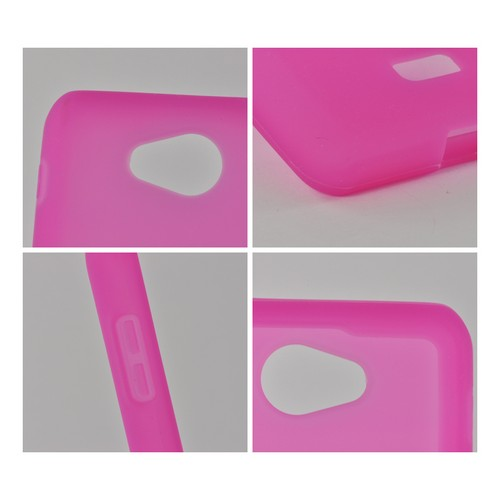 MultiPro Hot Pink Silicone Case for LG Spirit 4G (MetroPCS)