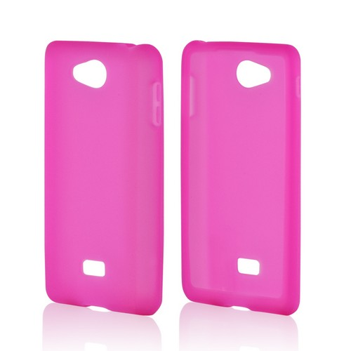 MultiPro Hot Pink Silicone Case for LG Spirit 4G