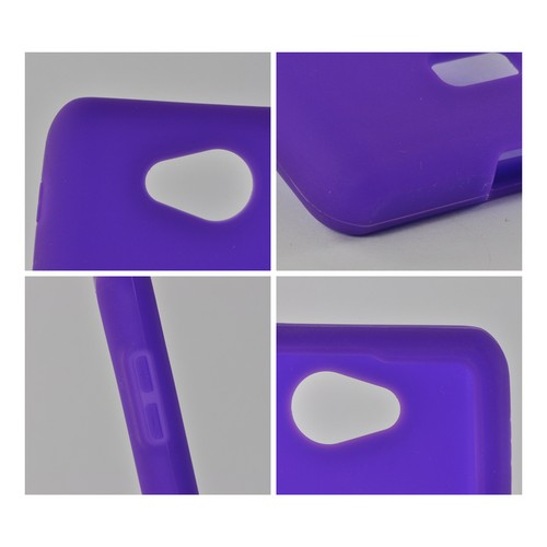 MultiPro Purple Silicone Case for LG Spirit 4G