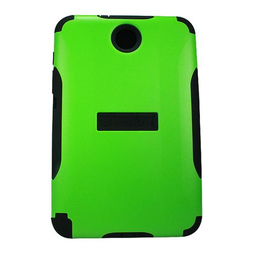 Lime Green Trident Aegis Series Hard Cover on Silicone Case w/ Screen Protector for Samsung Galaxy Note 8.0 - AG-SAM-NOTE8-TG