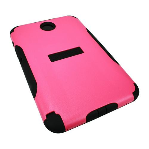 Hot Pink Trident Aegis Series Hard Cover on Silicone Case w/ Screen Protector for Samsung Galaxy Note 8.0 - AG-SAM-NOTE8-PNK
