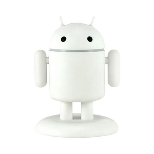 Gen Andru Chill Edition Android Robot Micro USB Cell Phone Travel Charger w/ Light Up Eyes & Moveable Arms (1A)