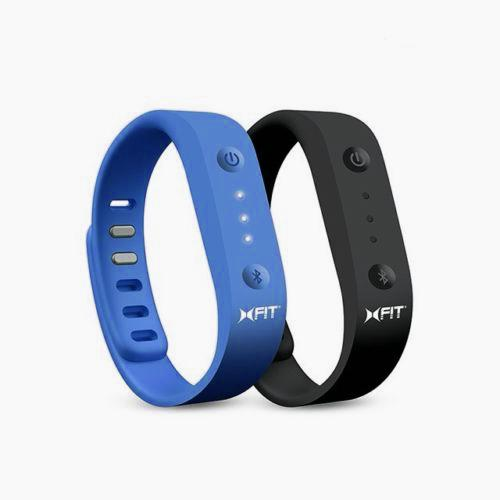 Xtreme Blue & Black Universal XFIT Band Activity & Sleep Monitor - Works w/ Apple & Android Devices!