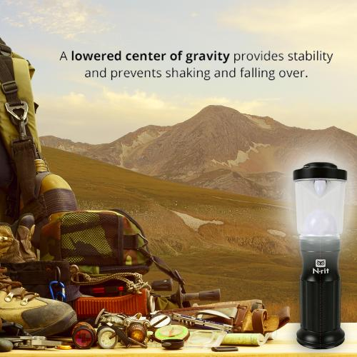 N-Rit Lightweight & Shock Resistant Mini Lantern w/ Magnetic Base