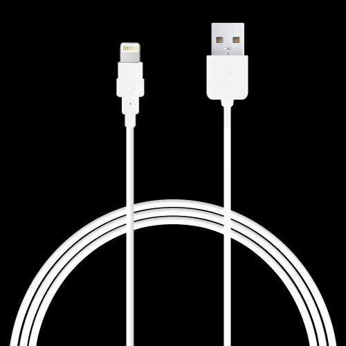 Manufacturers Apple MFI Certified Lightning Compatible to USB Charge & Sync Data Cable (6ft/1.8M) Skins