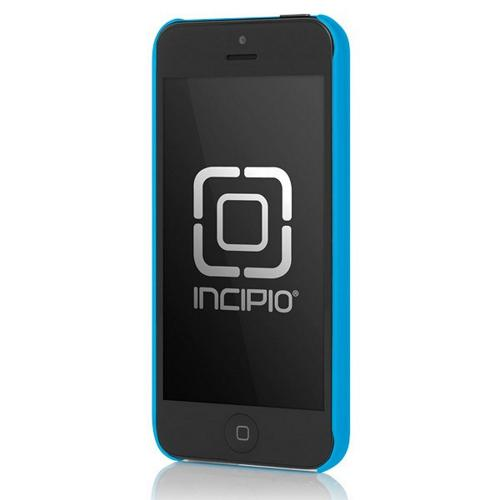 Incipio Blue Feather Ultra-Thin Rubberized Hard Case w/ Screen Protector for Apple iPhone 5/5S - IPH-807
