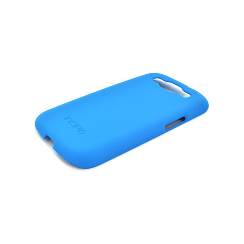 Incipio Feather Samsung Galaxy S3 Rubberized Hard Case w/ Screen Protector - Turquoise