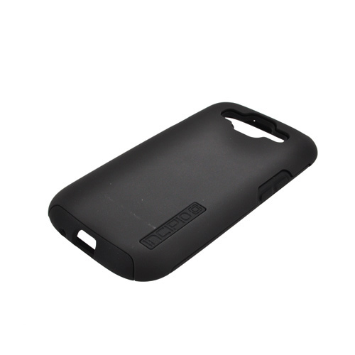 Incipio Silicrylic Samsung Galaxy S3 Hard Case on Silicone w/ Screen Protector - Black