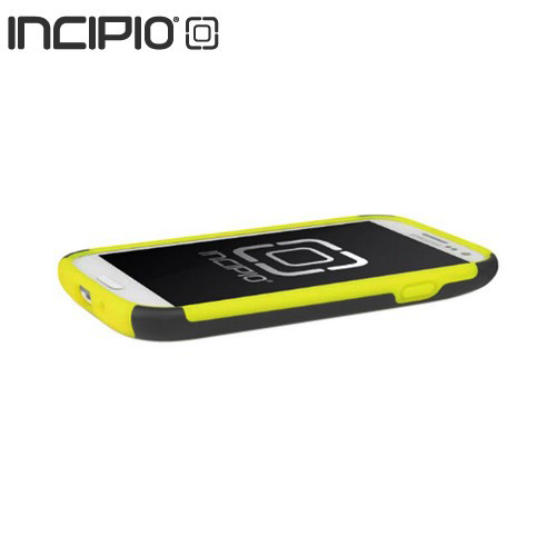 Incipio Silicrylic Samsung Galaxy S3 Hard Case on Silicone w/ Screen Protector - Black/ Neon Yellow