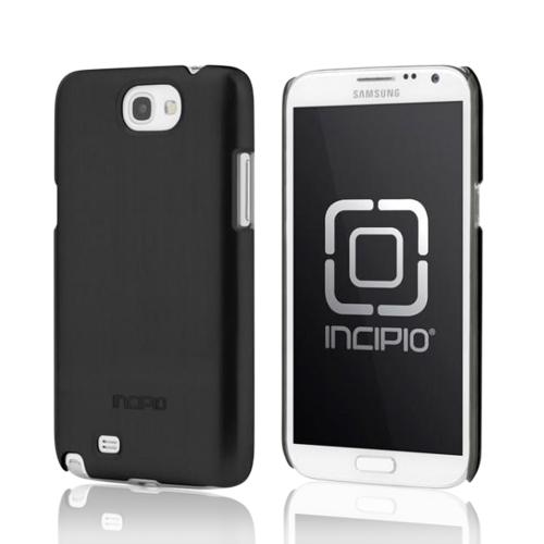 Incipio Black Feather Series Ultra-Thin Hard Case w/ Screen Protector for Samsung Galaxy Note 2