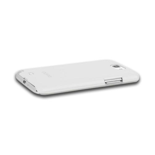 Incipio White Feather Series Ultra-Thin Hard Case w/ Screen Protector for Samsung Galaxy Note 2
