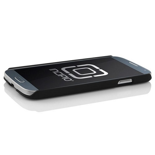 Incipio Black Feather Series Rubberized Hard Case w/ Screen Protector for Samsung Galaxy S4