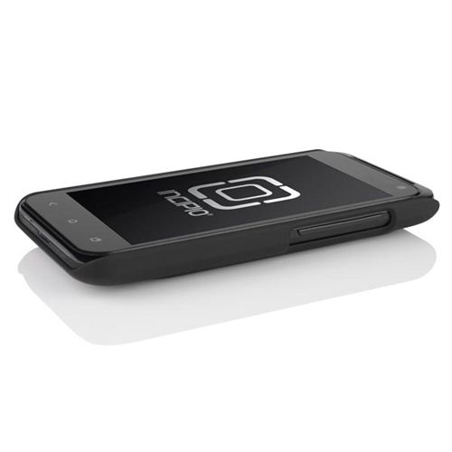 Incipio Feather HTC Droid Incredible 4G LTE Rubberized Hard Case - Black