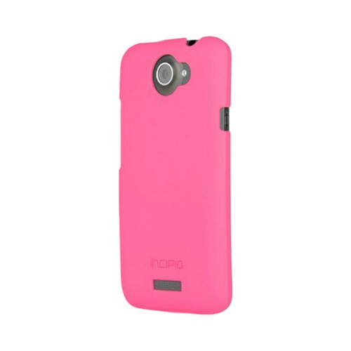 Incipio Feather HTC One X Ultra Thin Rubberized Hard Case, HT-288 - Hot Pink