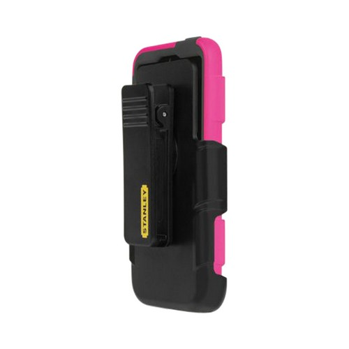 Apple iPhone SE / 5 / 5S  Case, Incipio [Hot Pink/ Black] Stanley Foreman Series Rugged Hard Case on Silicone w/ Holster & Screen Protector