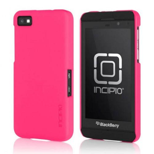 Incipio Feather Series Hot Pink Rubberized Hard Case for BlackBerry Z10, BB-1001