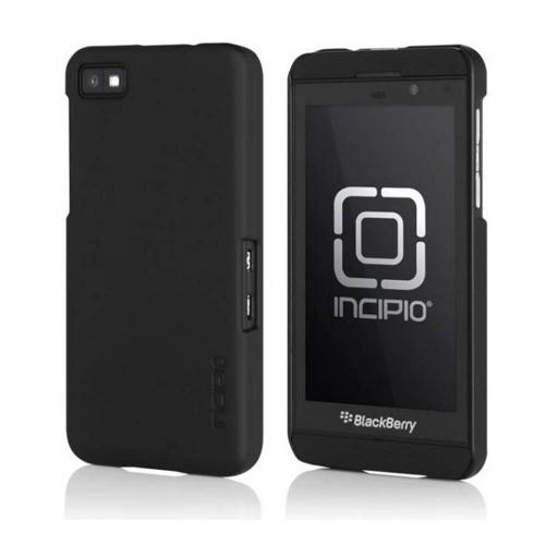 Incipio Feather Series Black Rubberized Hard Case for BlackBerry Z10, BB-1000