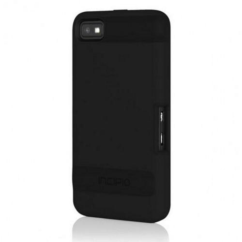 Incipio Black OVRMLD Rubberized Hard Case w/ Screen Protector and Holster for Blackberry Z10