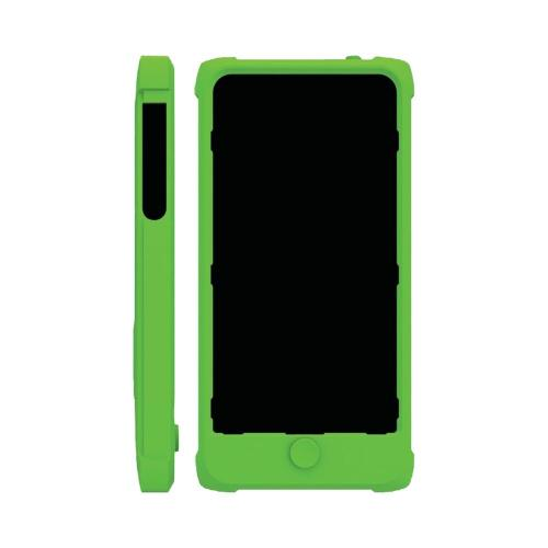Trident Lime Green Perseus Series Impact-Resistant Silicone Case w/ Screen Protector for Apple iPhone 5/5S - PS-IPH5-TG