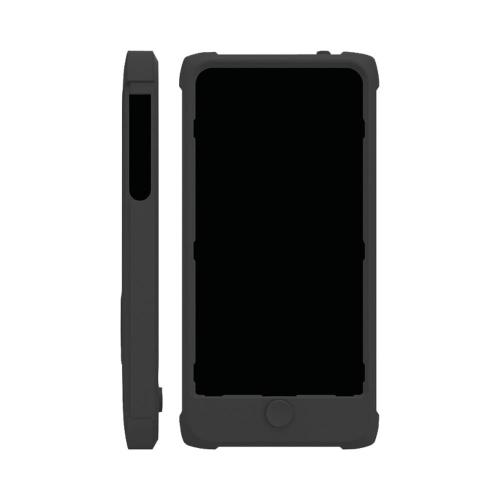 Trident Black Perseus Series Impact-Resistant Silicone Case w/ Screen Protector for Apple iPhone 5/5S - PS-IPH5-BK
