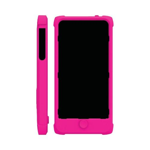 Apple iPhone SE / 5 / 5S  Case, Trident [Hot Pink] PERSEUS Series Impact-Resistant Silicone Case w/ Screen Protector - PS-IPH5-PNK