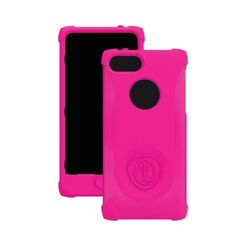 Trident Hot Pink Perseus Series Impact-Resistant Silicone Case w/ Screen Protector for Apple iPhone 5/5S - PS-IPH5-PNK