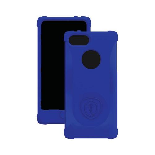 Trident Navy Perseus Series Impact-Resistant Silicone Case w/ Screen Protector for Apple iPhone 5/5S - PS-IPH5-NY