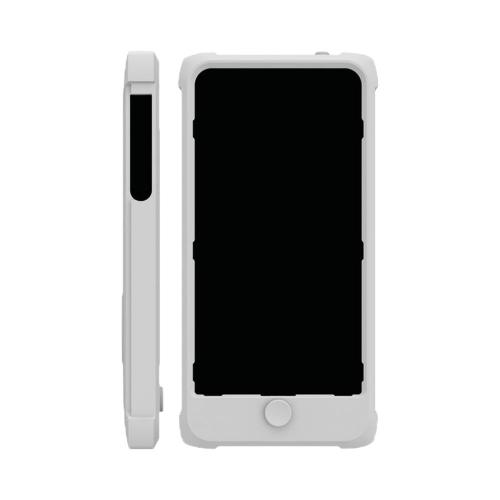 Trident White Perseus Series Impact-Resistant Silicone Case w/ Screen Protector for Apple iPhone 5/5S - PS-IPH5-WT