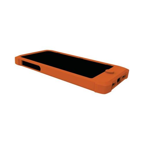 Trident Orange Perseus Series Impact-Resistant Silicone Case w/ Screen Protector for Apple iPhone 5/5S -PS-IPH5-OR