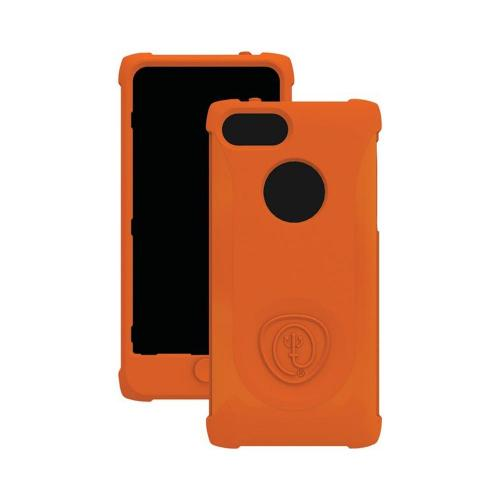 Apple iPhone SE / 5 / 5S  Case, Trident [Orange] PERSEUS Series Impact-Resistant Silicone Case w/ Screen Protector - PS-IPH5-OR