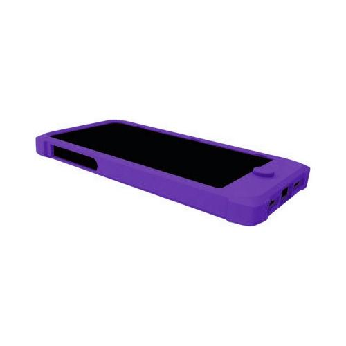 Trident Purple Perseus Series Impact-Resistant Silicone Case w/ Screen Protector for Apple iPhone 5/5S - PS-IPH5-PP