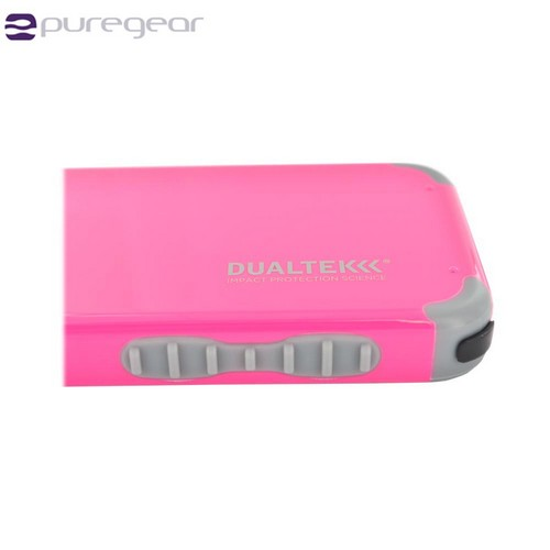 PureGear AT&T/ Verizon Apple iPhone 4/4S DualTek Extreme Shock Hybrid Hard Case w/ Screen Protector - Pink/ Gray