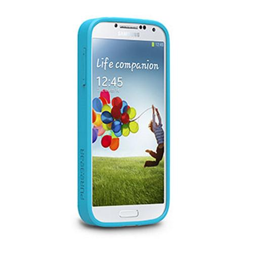PureGear Green/ Blue Groovy Flexible Gamer Case for Samsung Galaxy S4 - 60170PG