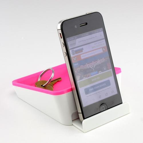 iHip Hot Pink EZY Stand Mount/ Stand/ Valet for Tablets/ Phones