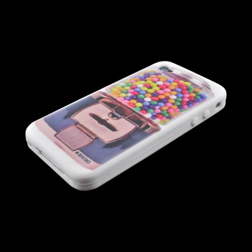 OEM DCI Apple iPhone 4/4S Silicone Case - Gumball Machine