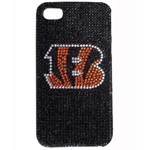 Cincinnati Bengals Bling Gems Hard Case for Apple iPhone 5/5S - NFL Licensed