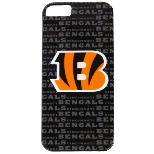 Cincinnati Bengals Hard Case for Apple iPhone 5/5S - NFL Licensed