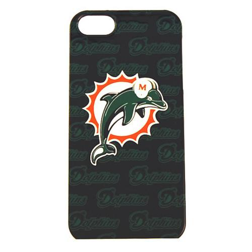 Miami Dolphins Hard Case for Apple iPhone 5/5S - NFL Licensed