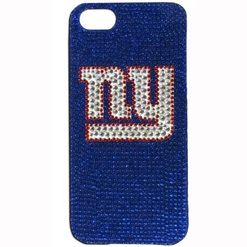 New York Giants Bling Gems Hard Case for Apple iPhone 5/5S - NFL Licensed