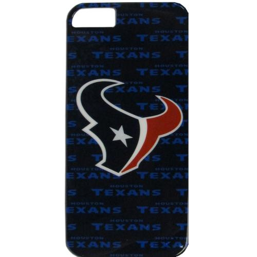 Houston Texans Hard Case for Apple iPhone 5/5S - NFL Licensed