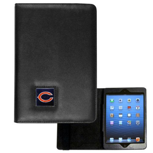 Chicago Bears Black Faux Leather Folio Case for Apple iPad Mini 1/2/3 - NFL Licensed