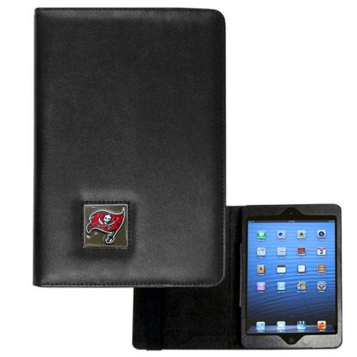 Tampa Bay Buccaneers Black Faux Leather Folio Case for Apple iPad Mini 1/2/3 - NFL Licensed