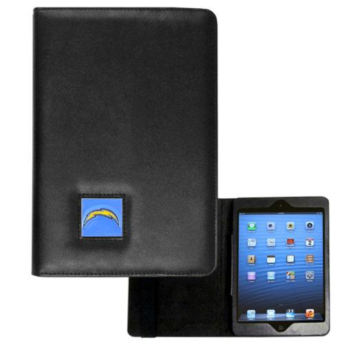 San Diego Chargers Black Faux Leather Folio Case for Apple iPad Mini 1/2/3 - NFL Licensed