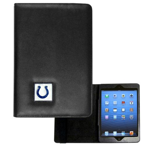 Indianapolis Colts Black Faux Leather Folio Case for Apple iPad Mini 1/2/3 - NFL Licensed