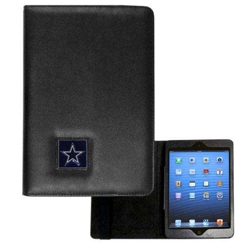 Dallas Cowboys Black Faux Leather Folio Case for Apple iPad Mini 1/2 - NFL Licensed