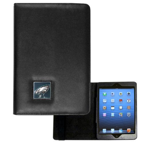 Philadelphia Eagles Black Faux Leather Folio Case for Apple iPad Mini 1/2/3 - NFL Licensed