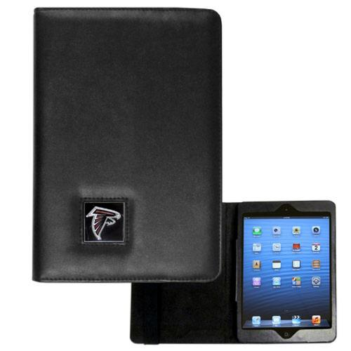 Atlanta Falcons Black Faux Leather Folio Case for Apple iPad Mini 1/2/3 - NFL Licensed