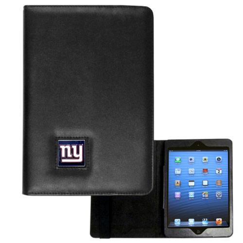 New York Giants Black Faux Leather Folio Case for Apple iPad Mini 1/2 - NFL Licensed