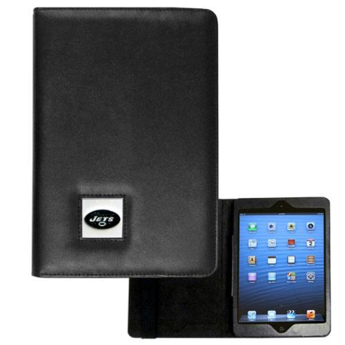 New York Jets Black Faux Leather Folio Case for Apple iPad Mini 1/2/3 - NFL Licensed