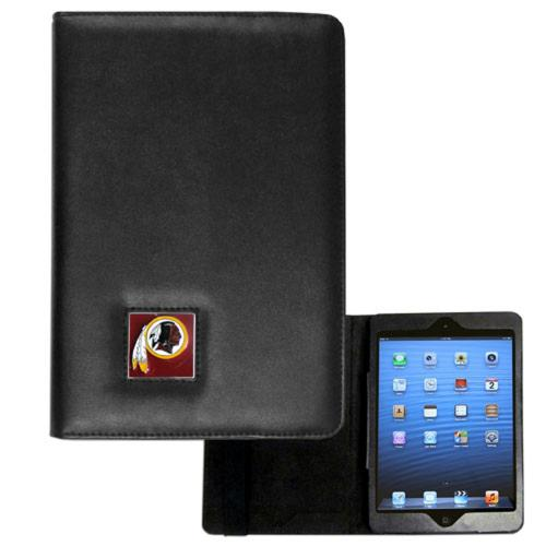 Washington Redskins Black Faux Leather Folio Case for Apple iPad Mini 1/2/3 - NFL Licensed